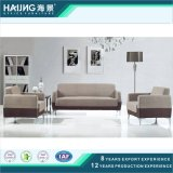 Simple and Elegant Fabric Office Sofa with Metal Legs