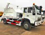 SINOTRUK Swing Arm Waste Truck, Swing Arm Garbage Truck