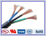 Sihf Heat Resistant Silicone Rubber Cable for Instument
