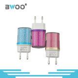 Wholsale Colorful 2-Ports USB Travel Charger with EU Plug