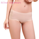 Anti-Bacterial Silver Fiber Nylon Seamless Underwear for Women
