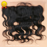 "10""-20"" Body Wave Natural Color Virgin Hair Frontal Closure"