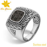 SSR-010 New Fashion Stainless Steel Four Finger Ring