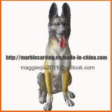 Custom Made Family Dog Statues Memorial Ma1701
