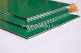 Fresh High Gloss Light Green Aluminum Iterior Wall Panel