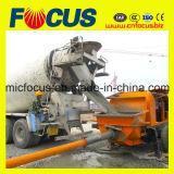 90kw Electric Motor Portable Trailer Concrete Pump with Slide Valve-Cobra Pumpcrete