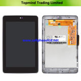 LCD for Asus Google Nexus 7 LCD with Digitizer Touch with Front Housing