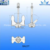 Marine/Ship/Boat Offshore Mooring Stockless Anchors - Baldt