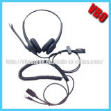 Rj Jack Telephone Headset Communication Call Center Headset