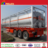 45000 Liters Tri-Axle Chemical Liquid Tank Truck