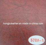 Red Imitation Leather for Furniture (Hongjiu-578#)
