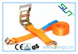 2017 GS Passed 3000kgs Ratchet Strap with D J Hook