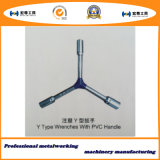 Y Type Wrenches with PVC Handle