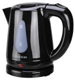 0.8L Black Coldless Plastic Electric Kettle for Sale