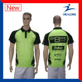 Healong Screen Printing Digital Print Wholesale Polo Golf Shirts
