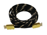 Nylon Sleeve Braided HDMI Cable Assembly (YLC-01)