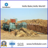 Removable Horizontal Straw Baler with Conveyor Belt