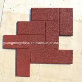 Outdoor Safe Interlocking Playground Rubber Tiles