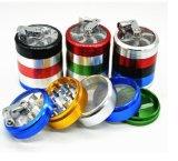 4 Parts Colorful Grinder, Aluminium 63mm Colored Herb Grinder
