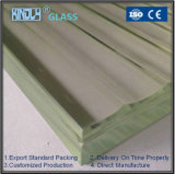 Low Iron Tempered Rolled Laminated Glass for Building