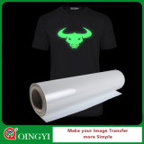 Qingyi Nice Glow in Dark Heat Transfer Paper Roll for Wears