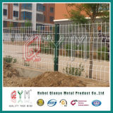 Triangle Bending Fence / 3D Curved Welded Wire Mesh/Mesh Fence Panel