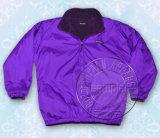 Custom Fashion Plain Polyester Full Zipper Women Jacket