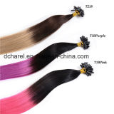 Wholesalecold Fusion U V I Tip Blond Ombre Keratin Hair Extensions