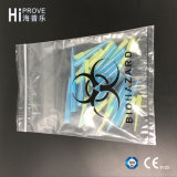 Ht-0722 Three Wall Biohazard Specimen Bag with a Document Pouch