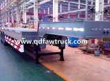 4 axles 60-80 Tons Low Bed Trailer