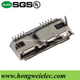 B Type Female SMT 10pin Micro USB 3.0 Connector