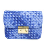 The Newest Fashionable Woven Flap Bag Shoulder Handbags Bags