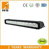 Single Row 20inch Straight CREE 120W LED Car Light Bar