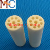 Porous High Temperature Alumina Ceramic Tube