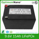 LiFePO4 Battery 9.6V 15Ah for Golf Trolley