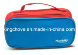 Good Selling Cosmetic Bag with Red and Blue Nylon Color Combination (KCC41)