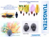 Worm Bullet Wholesale Fishing Weights Tungsten