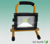 Portable Rechargeable 10W LED Flood Light/Floodlight