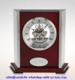 Super Quality Customized Wooden Table Clock for Home Decoration