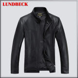 Best Sell Black Fashion Men′s PU Jacket