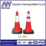 Orange, Lime, Green PVC Plastic Traffic Cone for Road Safety