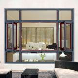 Feelingtop 1.4mm Profile Best Quality Aluminum Double Glass Window (FT-W108)