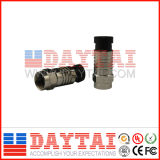 F Type CATV Connector RG6/Rg59 Compression Connector