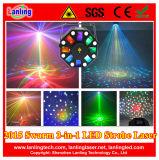 2015 New Mix LED Laser White LED Strobe Lighting
