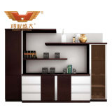 Modern Fashion Design Bookshelf File Cabinet Office Furniture (H80-0664)