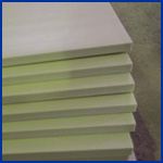 White Color PVC Celuka Foam Board Used in Bathroom Furniture