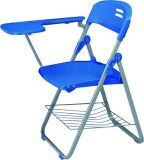 School Furniture PP Office Chair with Writing Pad