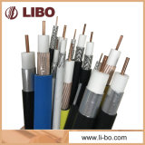 60% Braiding Coverage RG6 Coaxial Cable for Indoor CATV / CCTV Systems