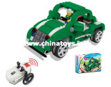 4CH Infrared Remote Control Building Block Vehicle Car Toy (837630)