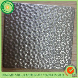 China Supplier 201 Emboss Stainless Steel Sheet Metal Decoration